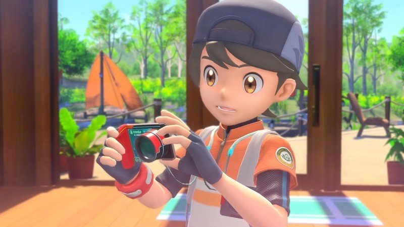 New Pokemon Snap Trainer