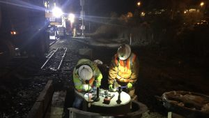 As part of its contract extension, TransitAmerica Services will also support construction of Caltrain's Peninsula Corridor Electrification Project, which includes the installation of more than 3,000 concrete foundations.