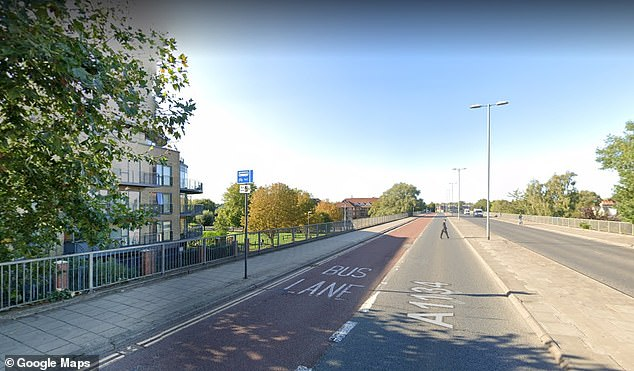 The scheme is currently operating on the Elizabeth Way bridge using an existing bus lane travelling northbound only