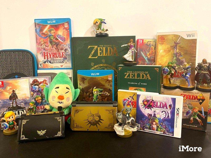 Zelda Collectibles And Games