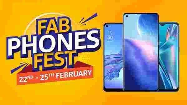 Amazon Fab Phones Fest 2021: Discount Offers On Oppo Smartphones