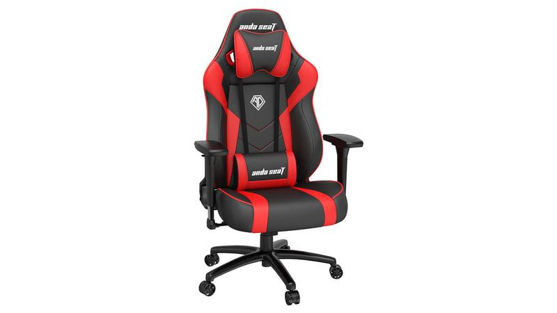 AndaSeat Dark Demon review: Red/black finish