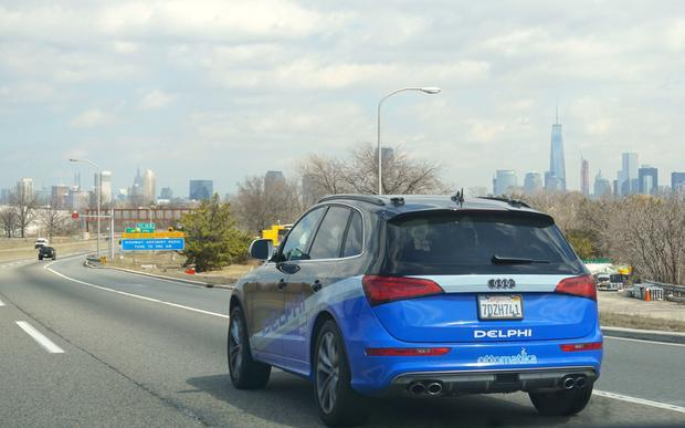 File photo: Delphi took their self-driving Audi SQ5 on a 3400 mile road-trip across the US