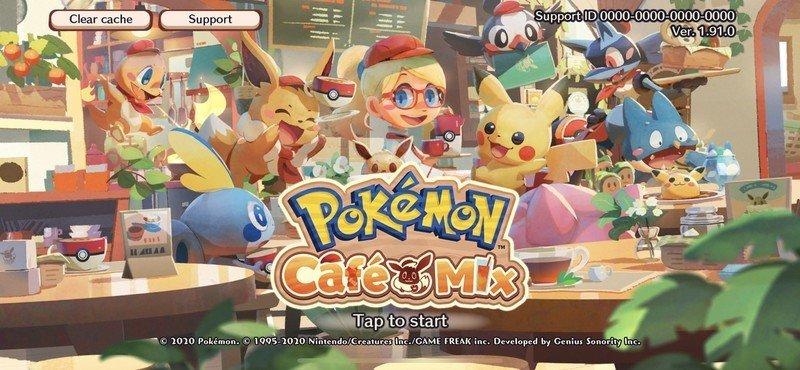 Pokemon Cafe Mix Screenshot