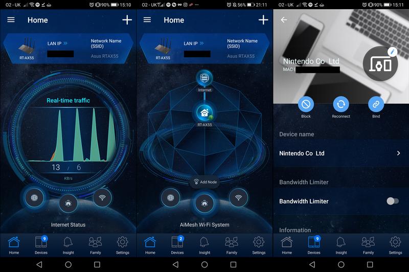 Asus RT-AX55 app