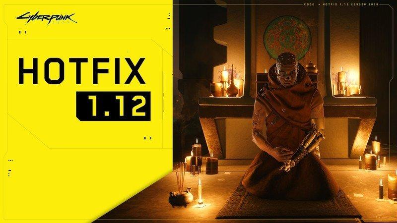 Cyberpunk 2077 1.12 Update