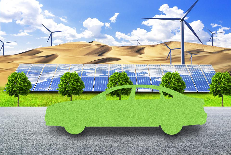 New energy vehicles use clean energy in the future