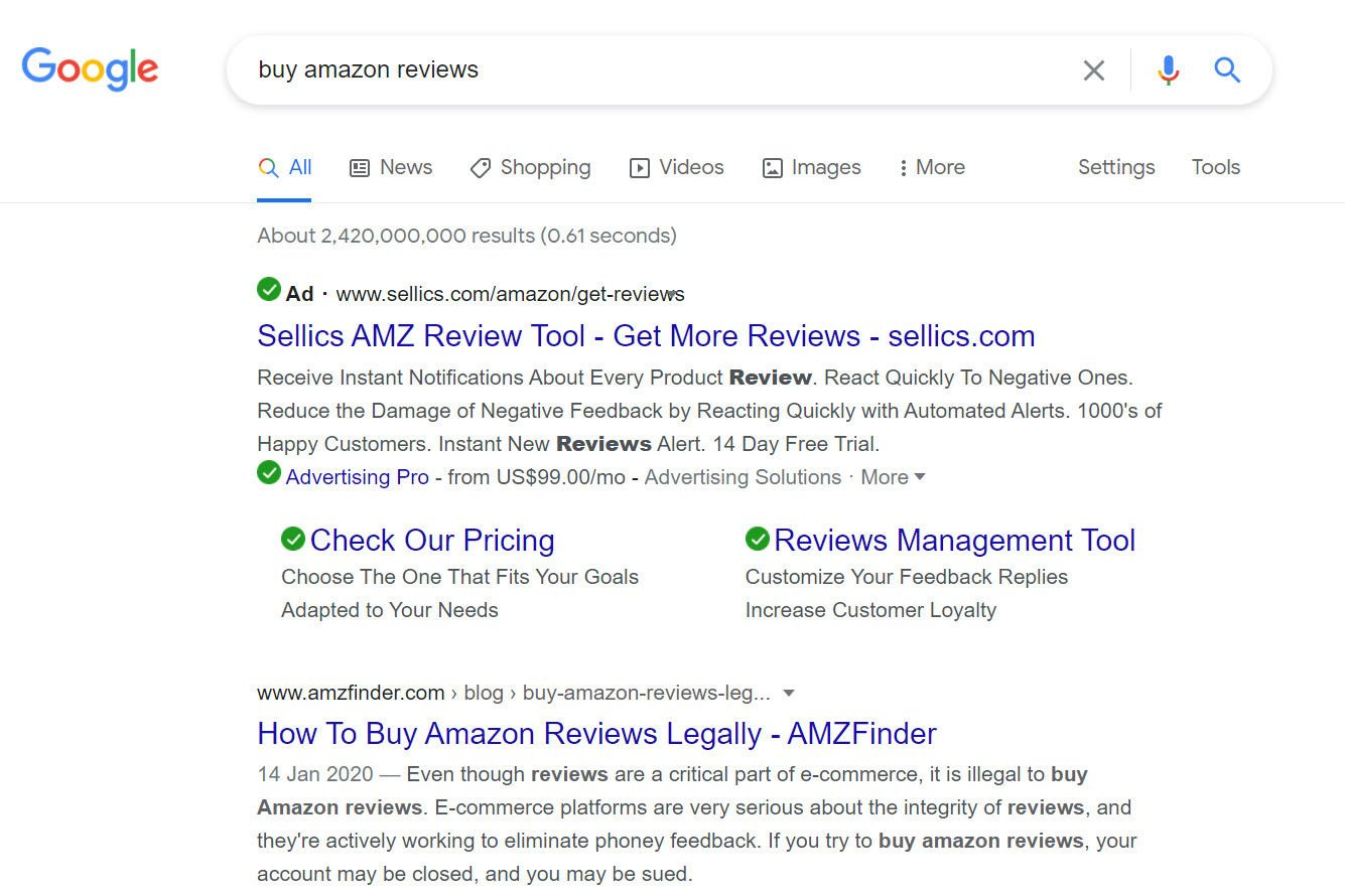 Fake Amazon reviews still a problem in 2021