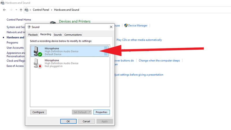 How to reduce background noise on a PC when using a microphone: Mic Settings