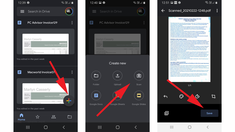 How to scan documents on your phone: Android