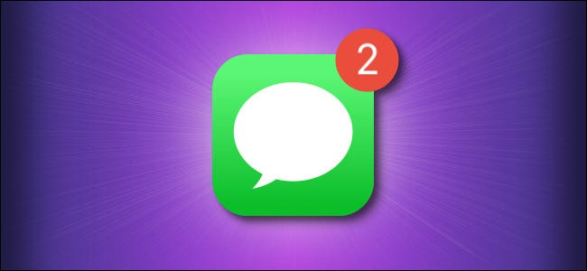 Apple Messages Icon With Notifications Hero