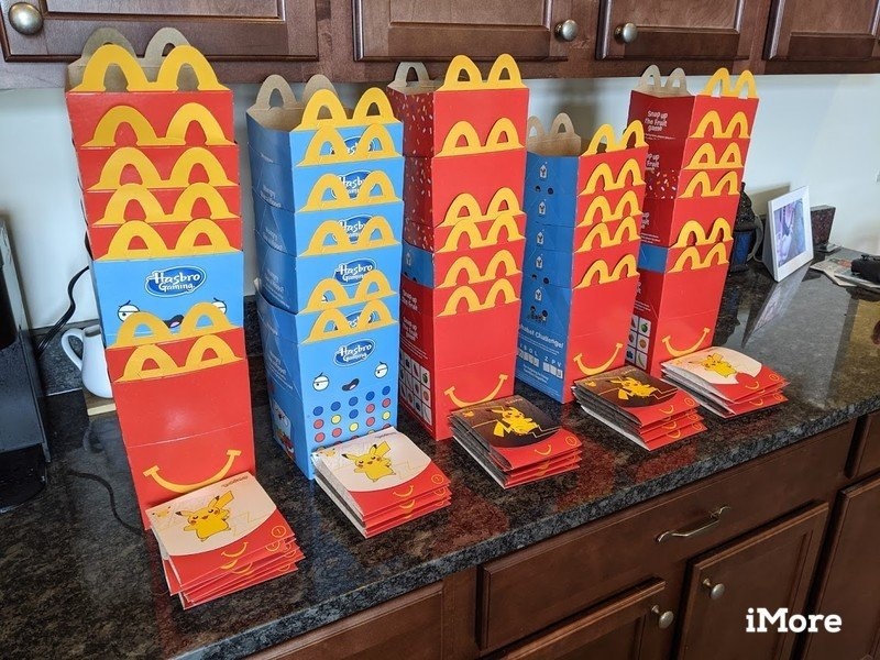 Mcdonalds Happy Meal Boxes With Toy