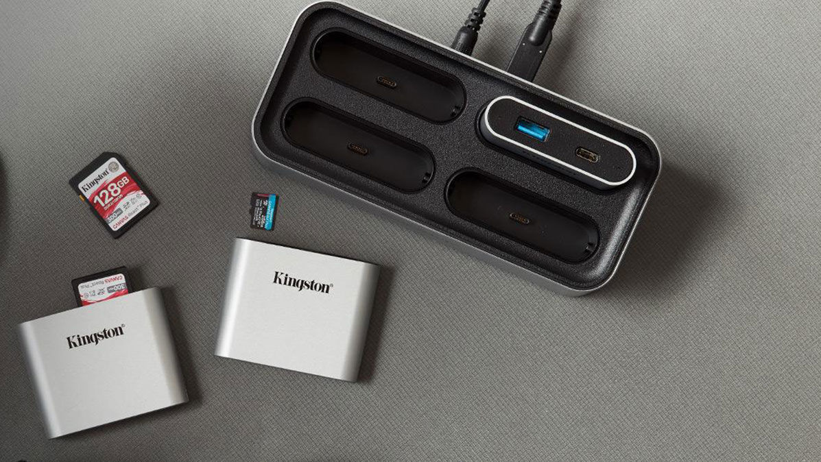 Kingston Workflow Station and miniHubs
