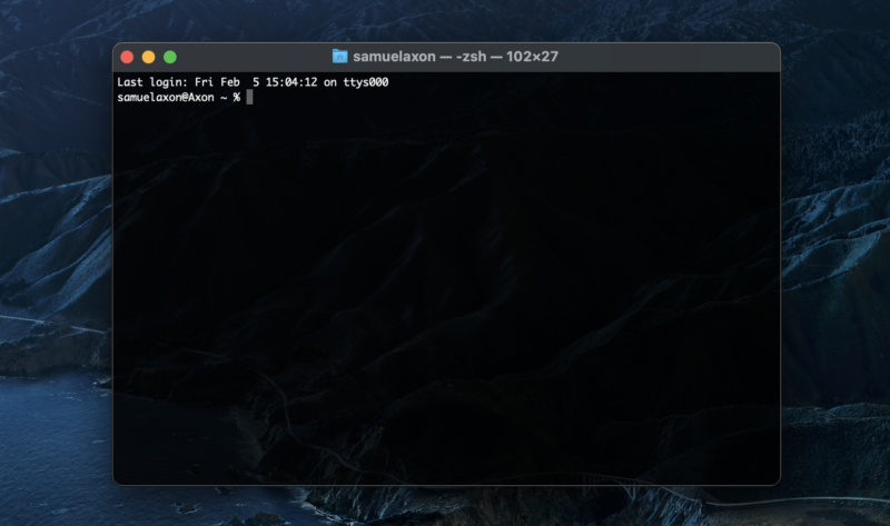Users can install Homebrew via the Terminal in macOS.