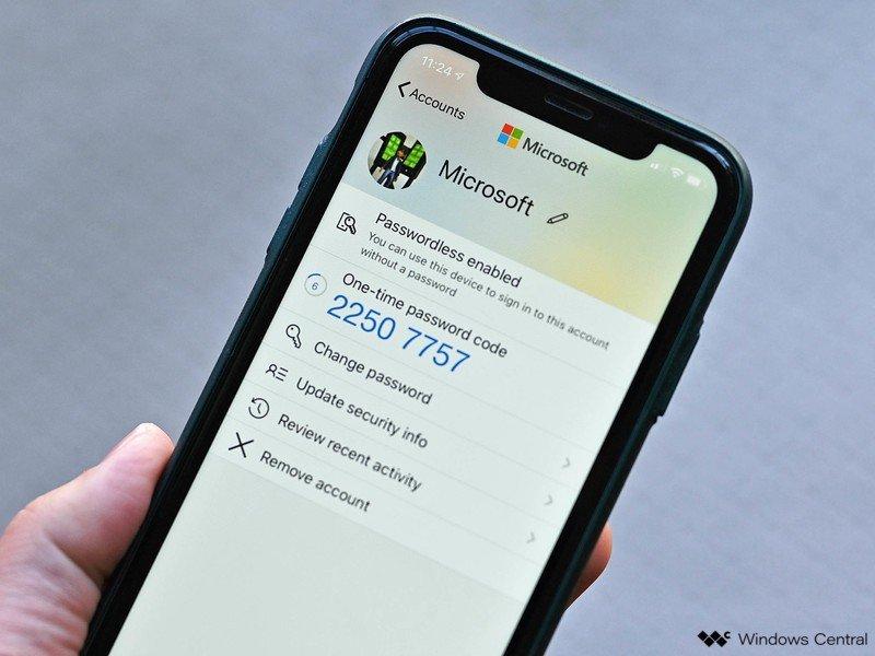 Microsoft Authenticator Ios Account
