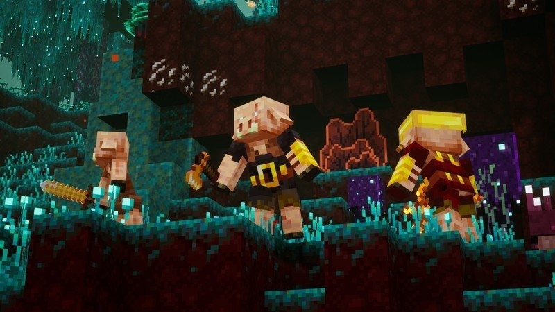 Minecraft Dungeons Nether Dlc Teaser