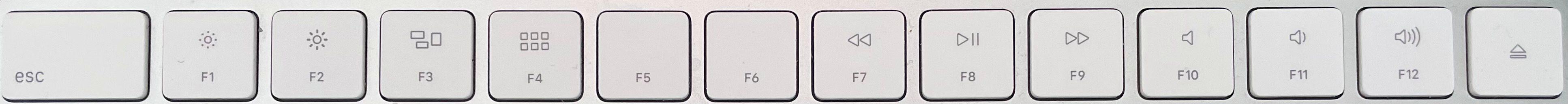 New Mac Magic Keyboard: What we'd like to see - old function keys