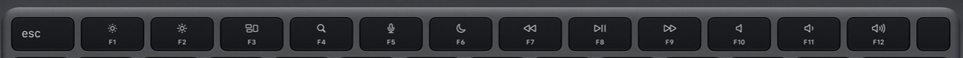 New Mac Magic Keyboard: What we'd like to see - function keys