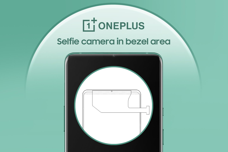 OnePlus Bezel Seflie Camera Smartphone Design Patent