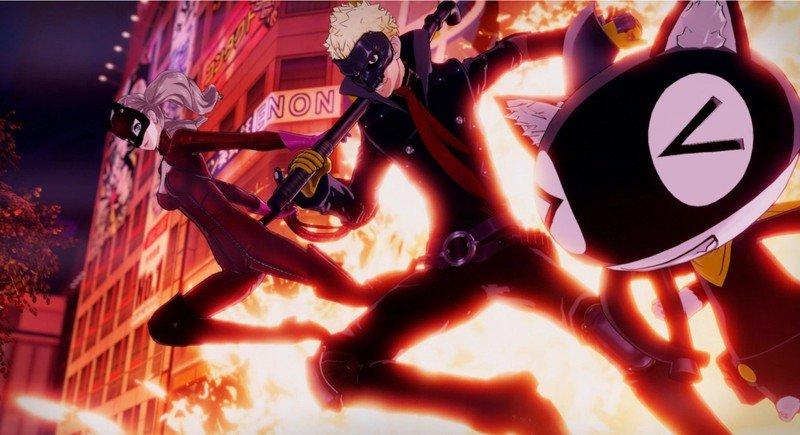 Persona 5 Strikers Explosion