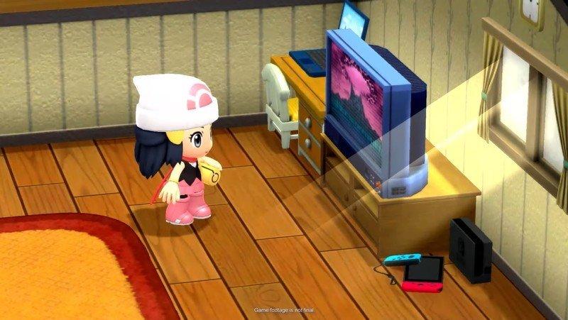 Pokemon Brilliant Diamond Shining Pearl Female Protagonist