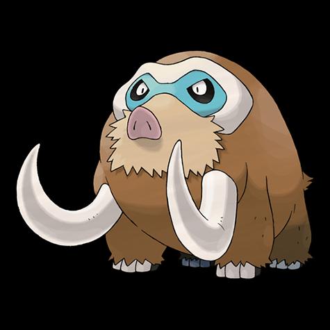Pokemon 473 Mamoswine