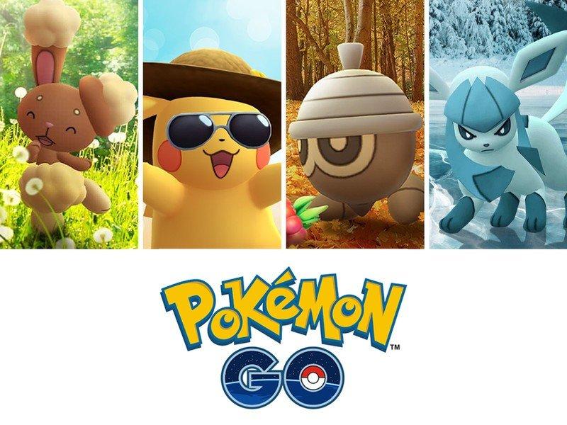 Pokemon Go Seasons