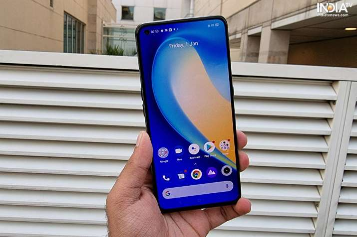 Realme X7 Pro sports an AMOLED display with a punch-hole