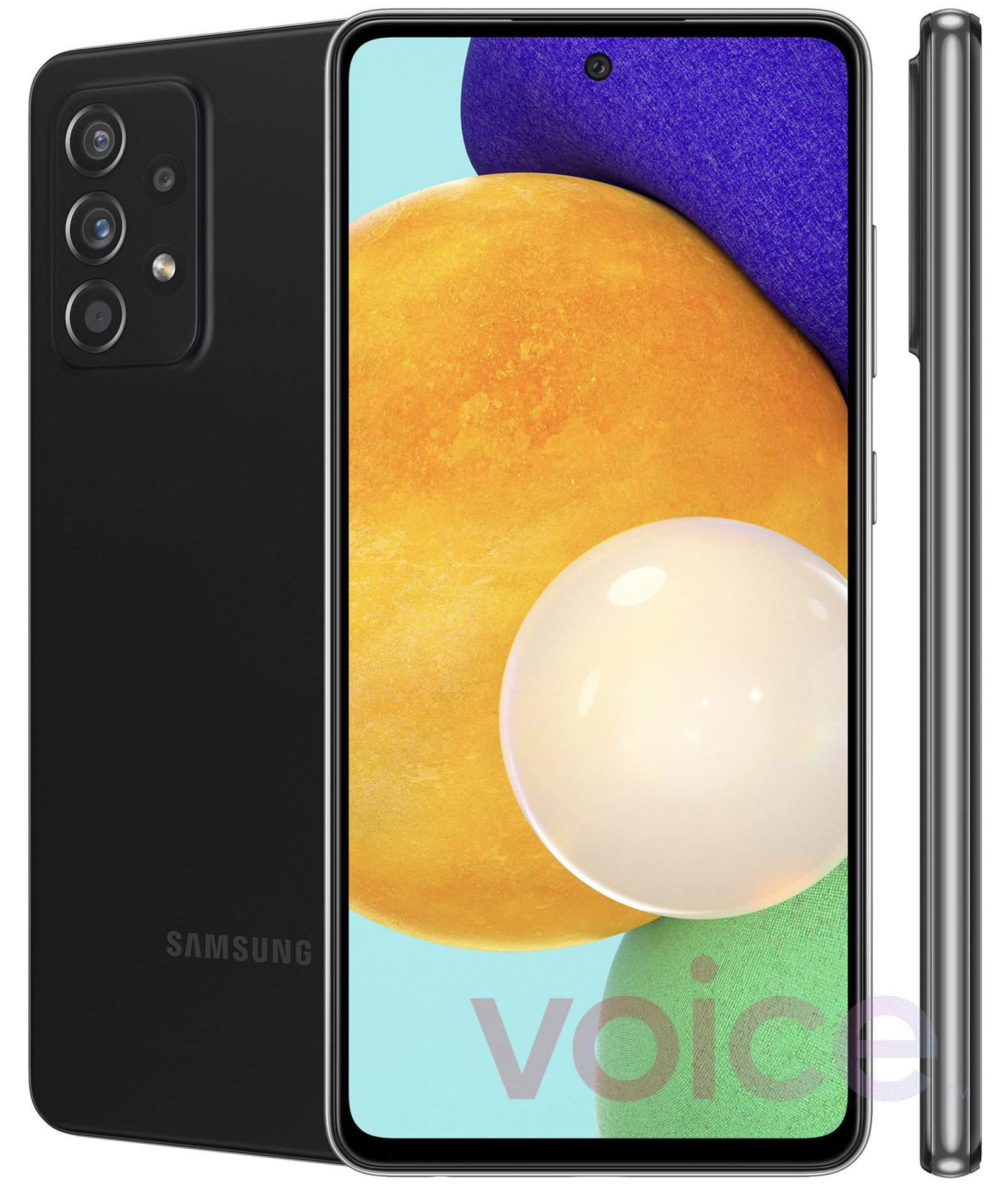 Samsung Galaxy A52 5G leaked press image | Source: Evan Blass