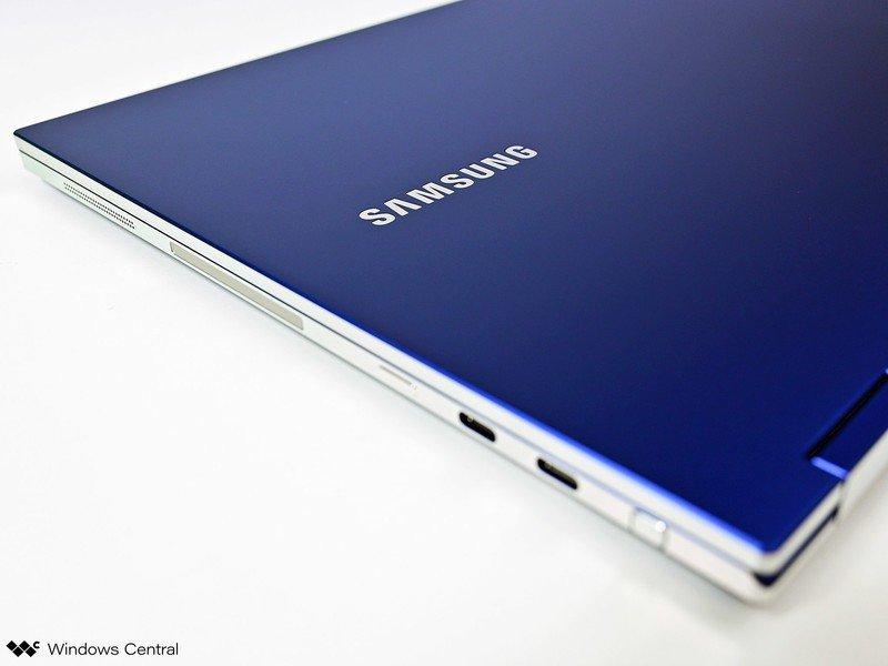 Samsung Laptoo Closeup