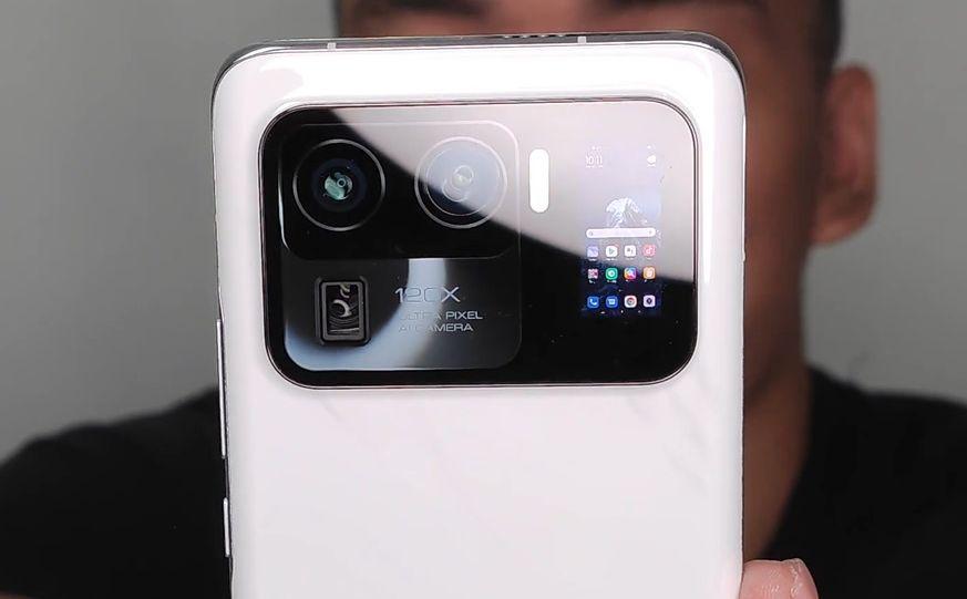 Mi 11 Ultra Secondary Screen Leak