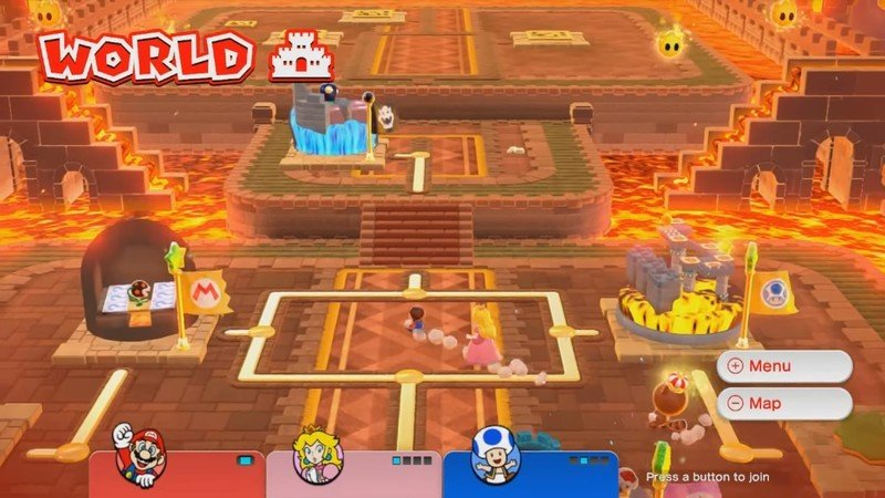 Super Mario 3d World Castle