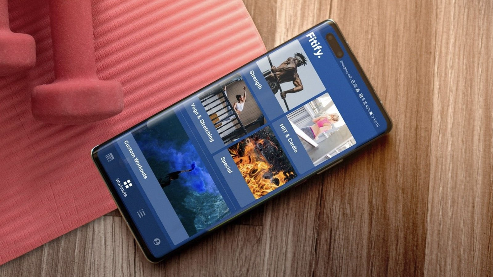 Fitify Huawei Third Party press image