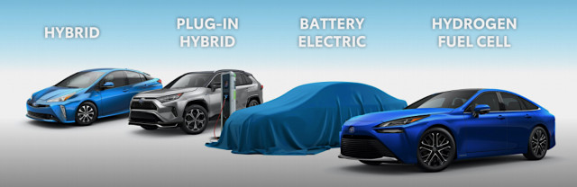 Toyota U.S. electrified vehicles presentation - February 2021
