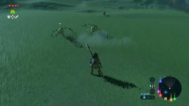 Legend Of Zelda Breath Of The Wild Combat