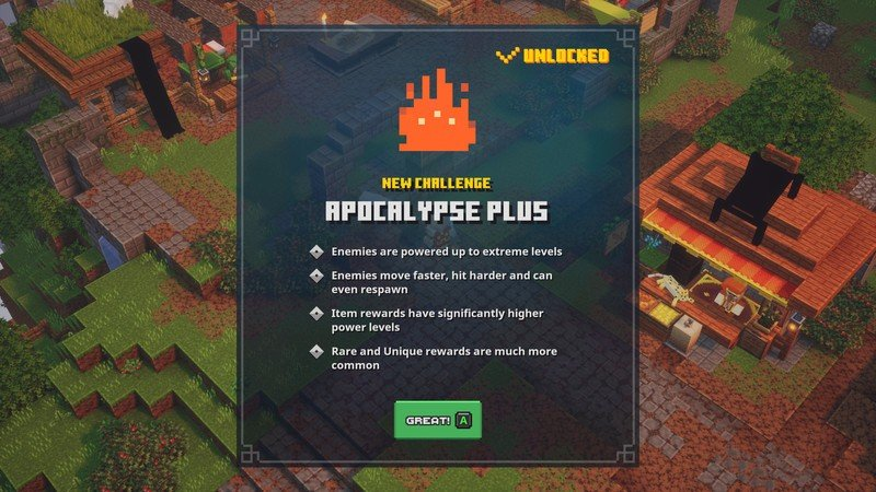 Minecraft Dungeons Apocalypse Plus Image