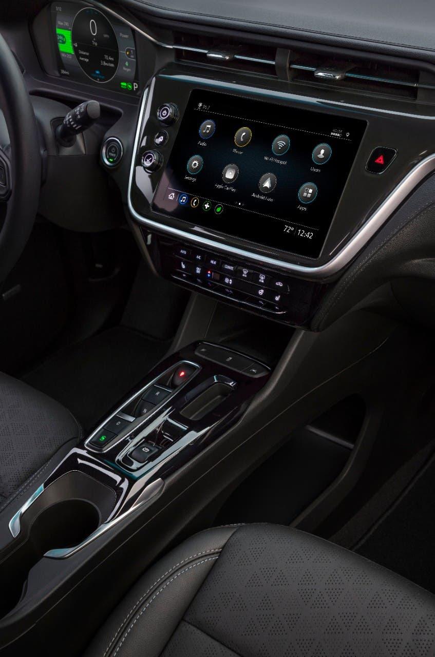 2022 Chevrolet Bolt EV dashboard infotainment screen