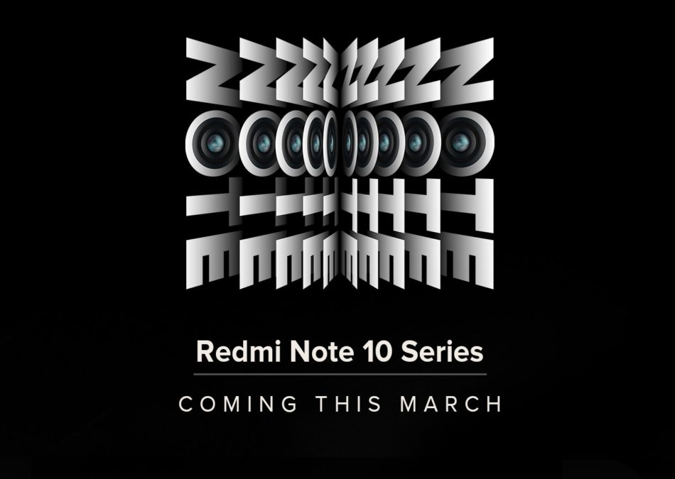 redmi note 10 launch march 2021