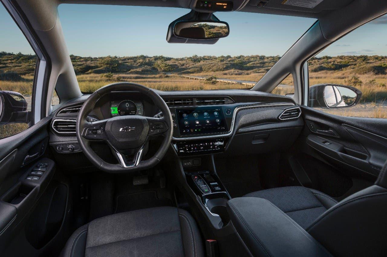 2022 Chevrolet Bolt EV interior front seats