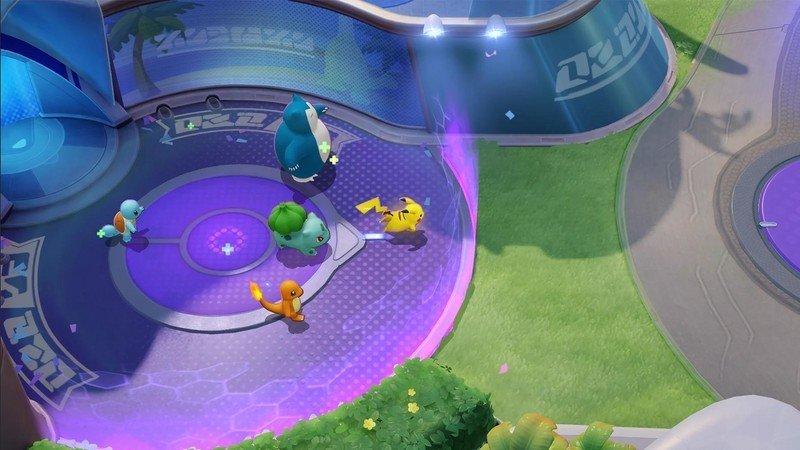 Pokemon Unite Starting Area