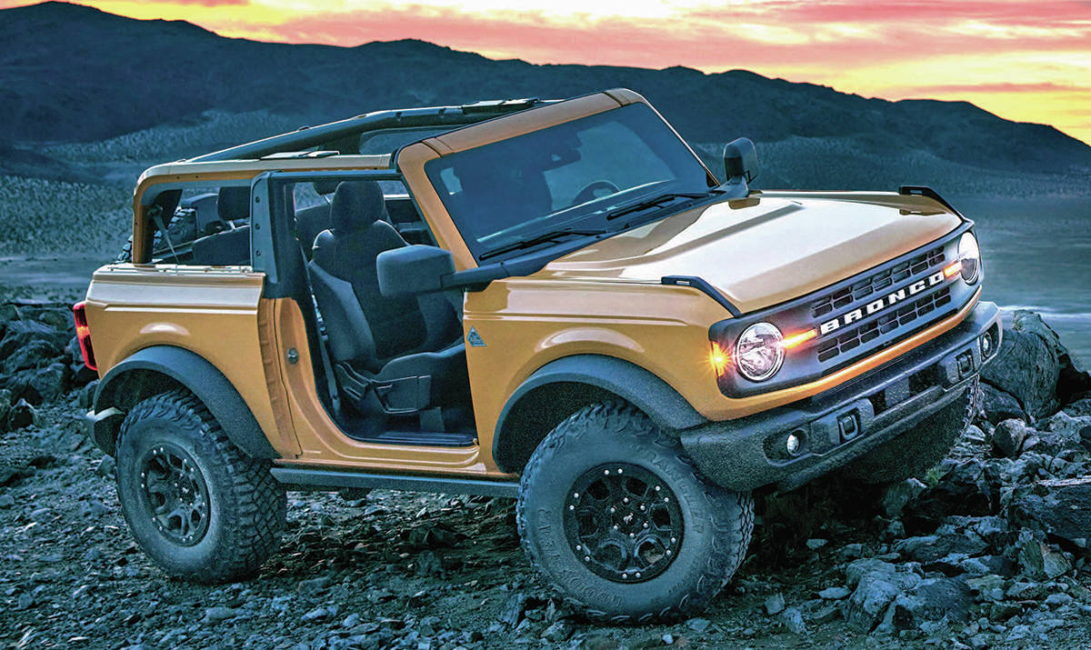 COVID-19 is delaying the arrival of the Ford Bronco until summer. PHOTO: FORD