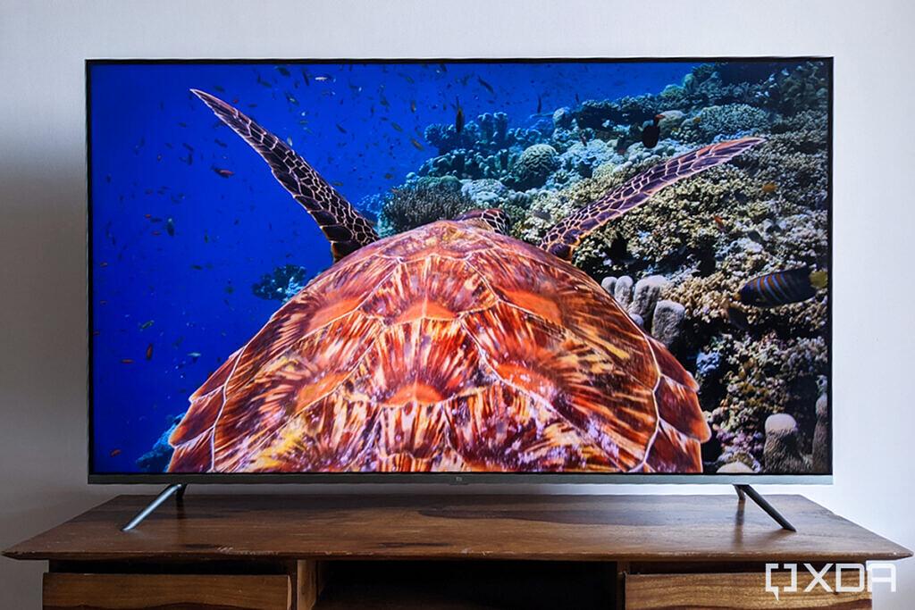 Xiaomi Mi QLED TV 4K 55 inch display dolby vision