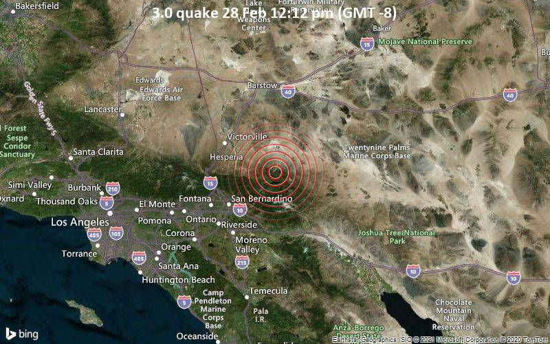 3.0 quake 28 Feb 12:12 pm (GMT -8)