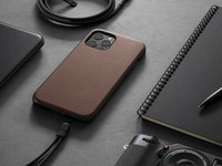Leather cases give the iPhone 12 Pro a sophisticated look and feel