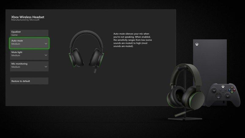 Xbox Wireless Headset 2021 Accessories App