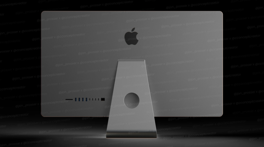 Space Gray iMac render from @cconceptcreator