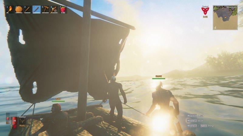 Valheim On A Raft