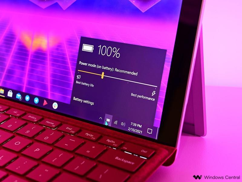 Surface Pro 7 2021 Powerbattery
