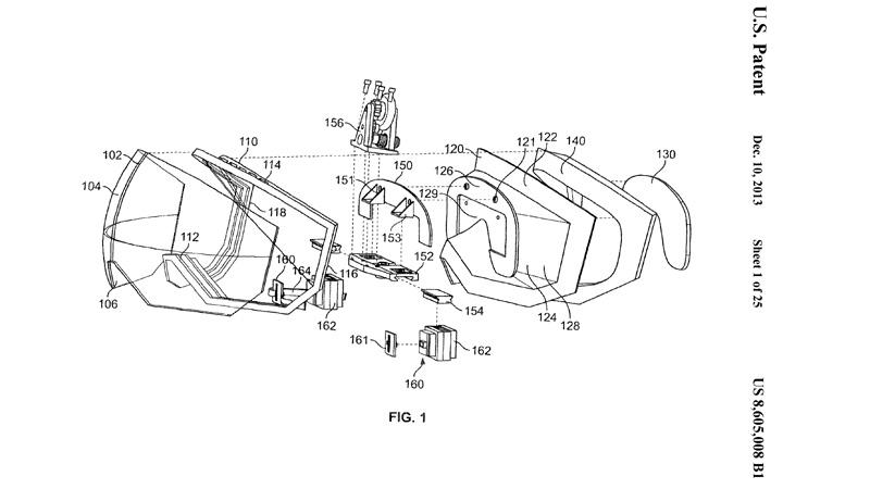 Apple AR & VR: Apple patents VR display