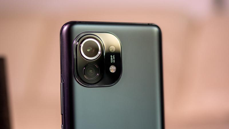 Xiaomi Mi 11 rear camera
